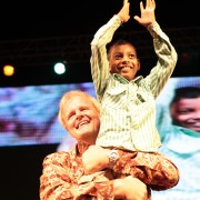 9 year old Sushil healed from blindness from birth